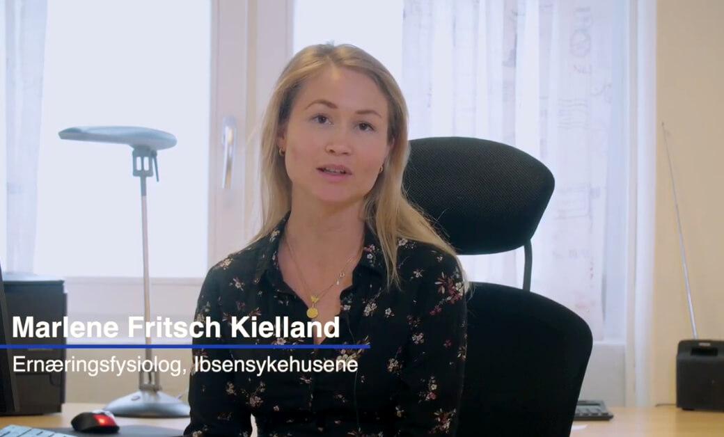 Slankeoperasjon presentasjonsvideo med ernæringsfysiolog Marlene Fritsch Kielland